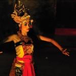 bali's dance by the flowerman