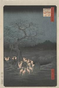 hiroshige-oji-shozoku-enoki-omisoka-no-kitsunebi
